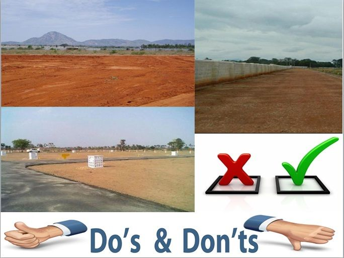 What n all you need to keep in mind for buying land in Bangalore / Bengaluru. Below are the few dos & don'ts. #BangaloreLandNews
