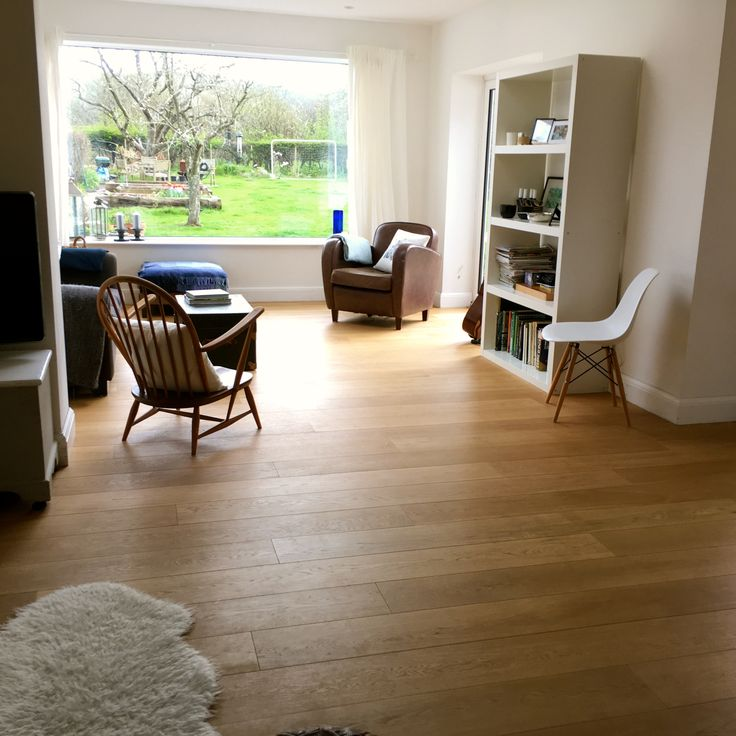 Oak Engineered Wood floor with Wide Plank & UV Oil Finish. MWF 614