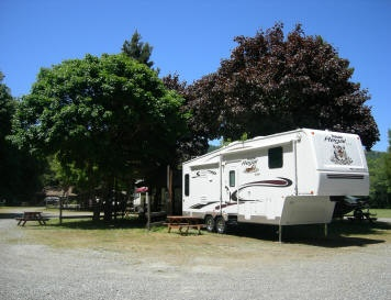 What are some RV parks on the Oregon coast?