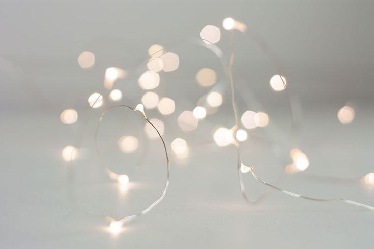 Just discovered the prettiest Fairy Lights | Silver | Warm White from Father Rabbit. OMG how cute are these?