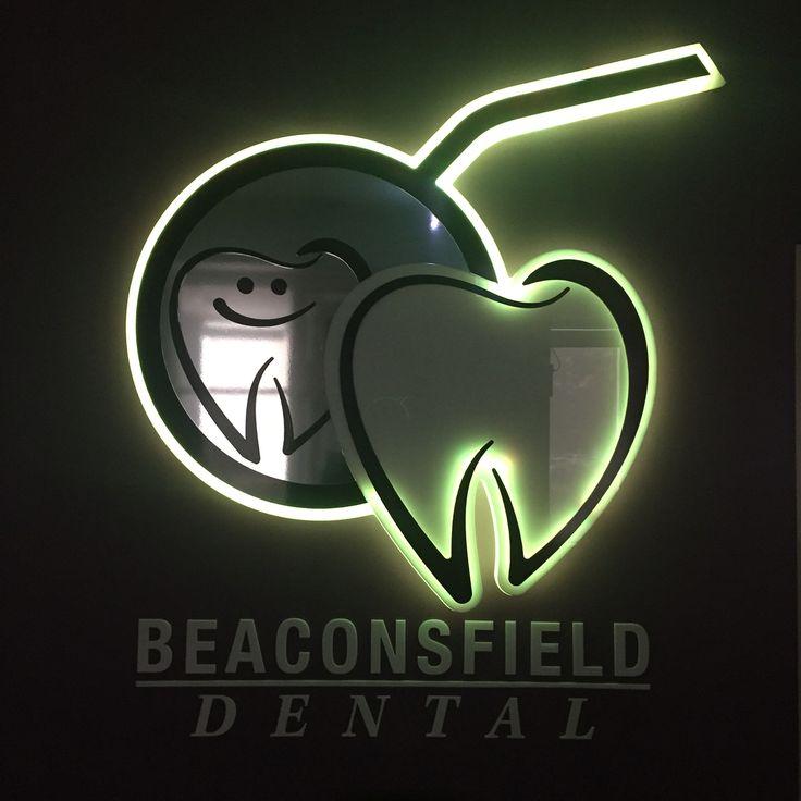 Berwick dentist. LED logo.