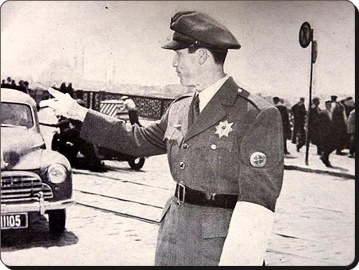 1950 ler Trafik polisi