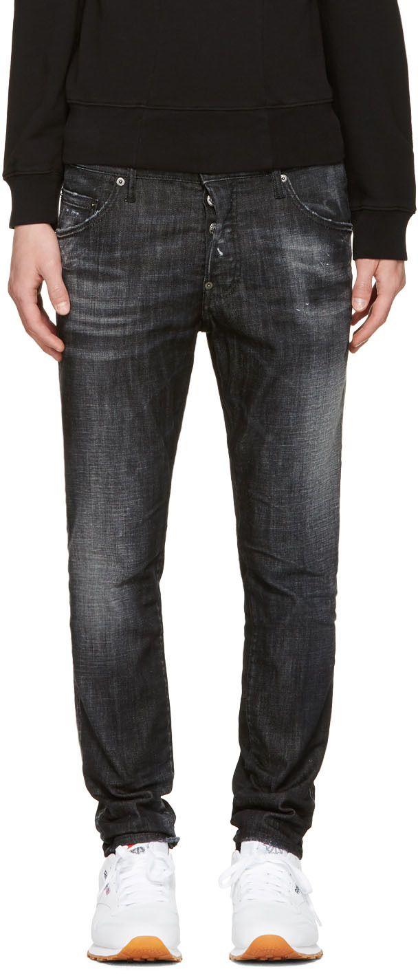 Dsquared2 - Black Skater Jeans