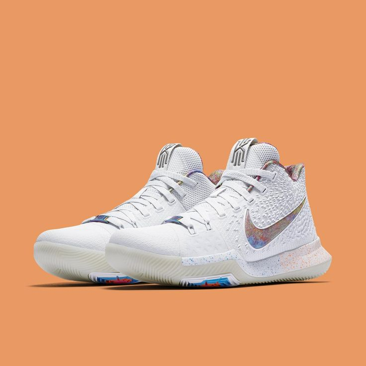 "Nike just released images of their new ""EYBL"" Kyrie 3s and PG1s, and Foot Locker confirmed they'll be released in-store on May 13, 2017.  So far the only announced location is House of Hoops Harlem, NYC; online availability is not yet known."