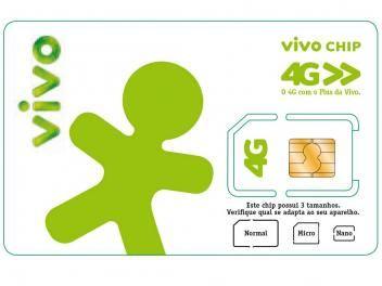 Chip Vivo 4G - Triplo Corte