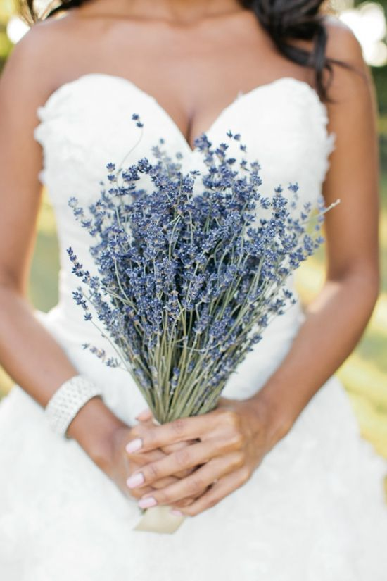 lavender wedding bouquet.  Did you know lavender has been proven to reduce anxiety?      www.lasbrisasfarm.com