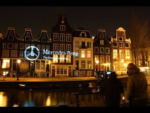 Mercedes-Benz. Creating day at night.