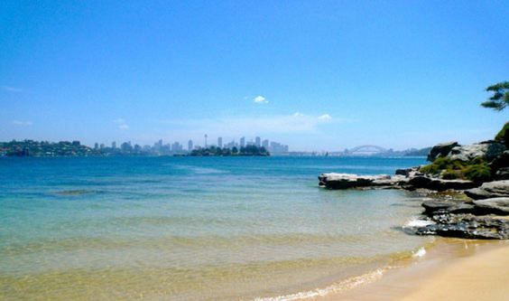 One of Sydney's secret beaches, Milk Beach is there for anyone & everyone