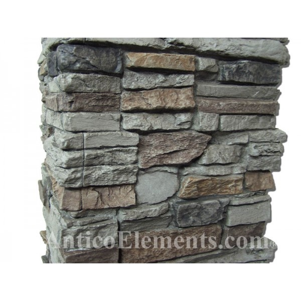 17 best images about stone on pinterest wraps stone for Faux wood exterior columns