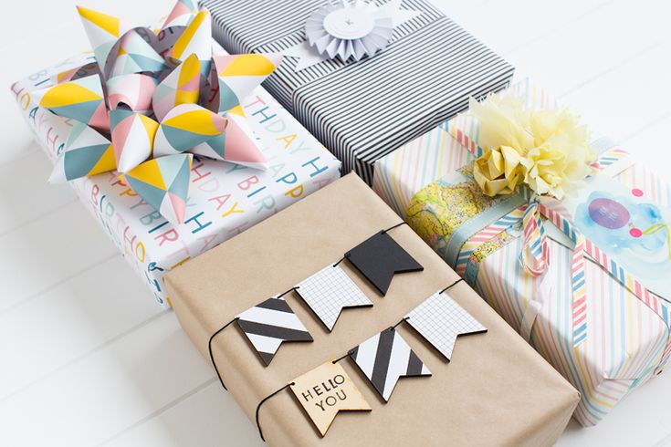 We believe gifts deserve to be presented with love. Beautiful gift wrapping can be creative and unique; transforming a thoughtful gift into something even more special.  In celebration of the art of gift wrapping, we collaborated with three wonderful creatives to present their take on a beautifully wrapped gift - shown above and below.