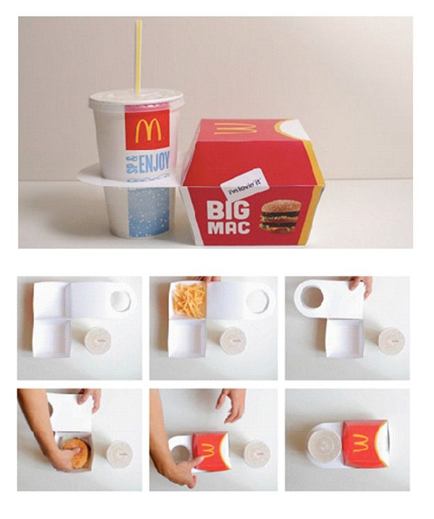 26 Best Fast Food / To Go Packaging Images On Pinterest