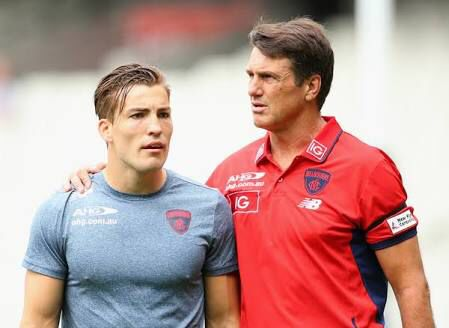 Jack Viney #7 Paul Roos #coach