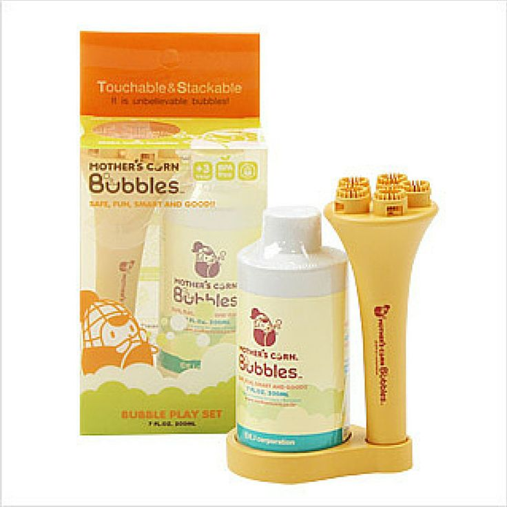 motherscorn touchable bubbles are eco friendly and easy to use