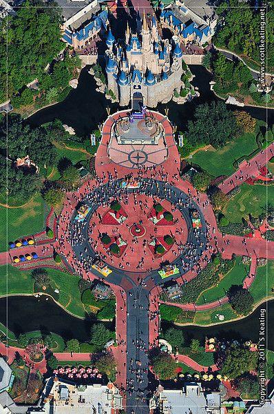 Scot Keating's aerial photography of Disney World!: Disney World Florida, Disney Vacations, Ariel View, Disney Parks, Birds Eye View, Walt Disney World Photography, Disneyland Florida, Florida Disney, Aerial View