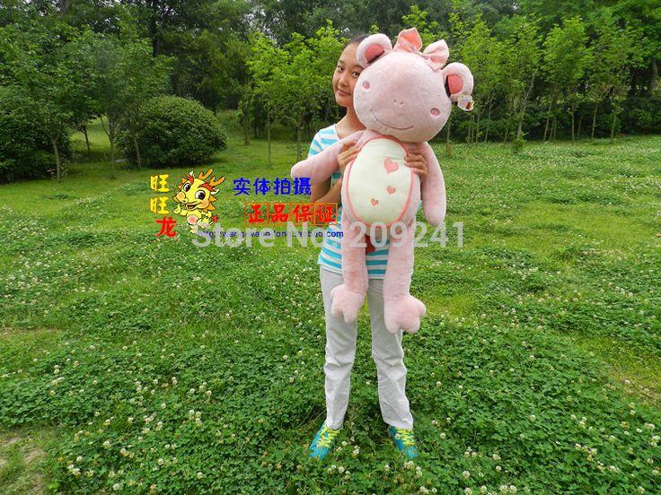 Big прекрасная лягушка-игрушка мягкий свет розовый девушка лягушка кукла свадебный подарок около 90 см