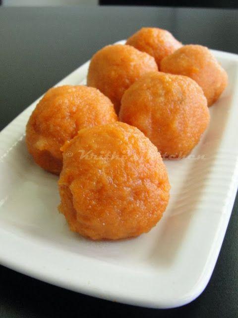 Krithi's Kitchen: Sweet Potato Balls | Healthy Evening Snacks