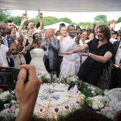 Matrimonio misto tra un'eritrea e un italiano  | Le migliori foto di matrimoni di Coco Wedding.