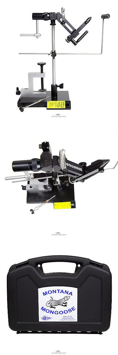 Fly Tying Vises and Tools 44916: Griffin Montana Mongoose Cam Operated High Quality Advanced Tech Fly Tying Vise -> BUY IT NOW ONLY: $219.95 on eBay!