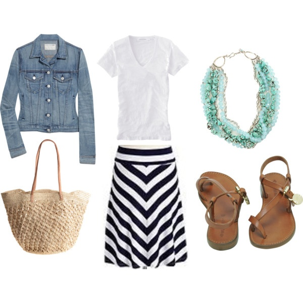 : Summer Looks, Summer Day, Jeans Jackets, Summer Style, Summer Outfits, Leather Sandals, Casual Outfits, Spring Outfits, Old Navy