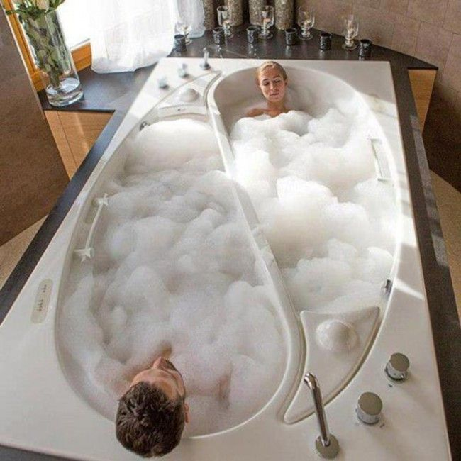 Yin Yang Couples Tub by Trautwein - Materialicious