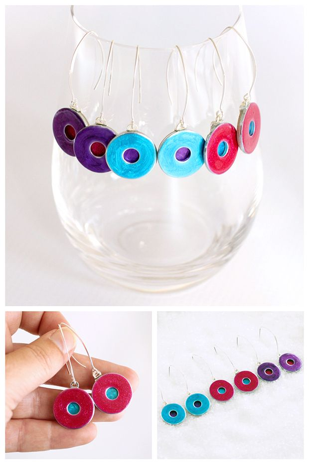 Handmade Hardware Earrings on a Dime | DIY