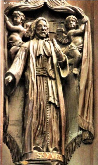 St Yves, Collégiale de Rostrenen (22).