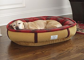 fleece dog bed, orvis, slate? $119 fleecelock%26%23153%3b