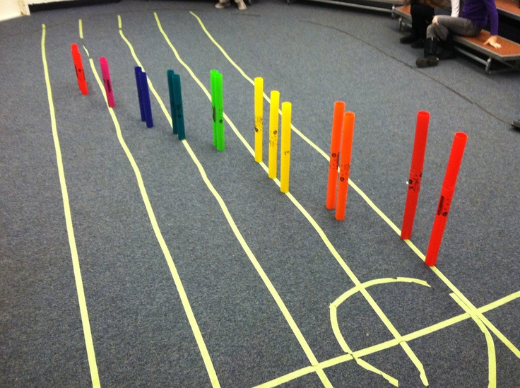 We love boomwhackers! They provide multiple learning opportunities that just so happen to be fun! Here we were discovering what they look like when put them in order on the staff, a great visual for low and high note placement. #WestMusic #InspireMyClass