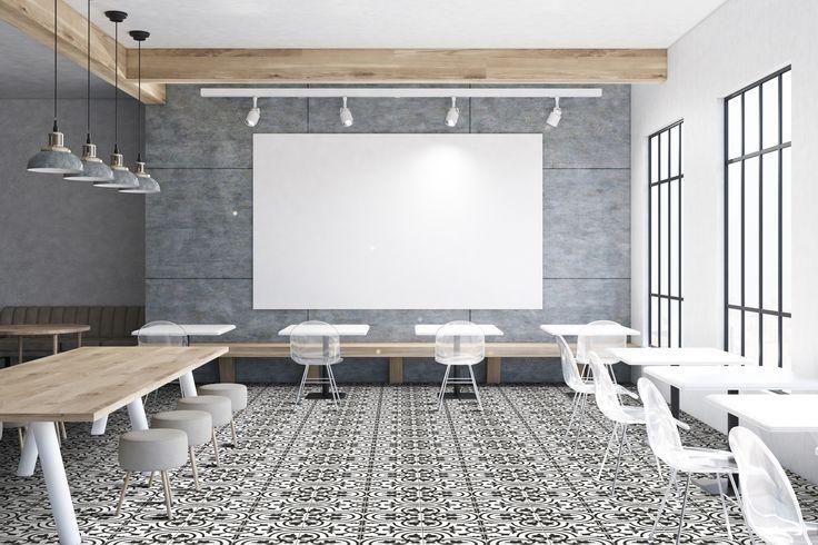 amazing ceramic tile ideas for cafes restaurants amantus glazed porcelain 20x20 cm