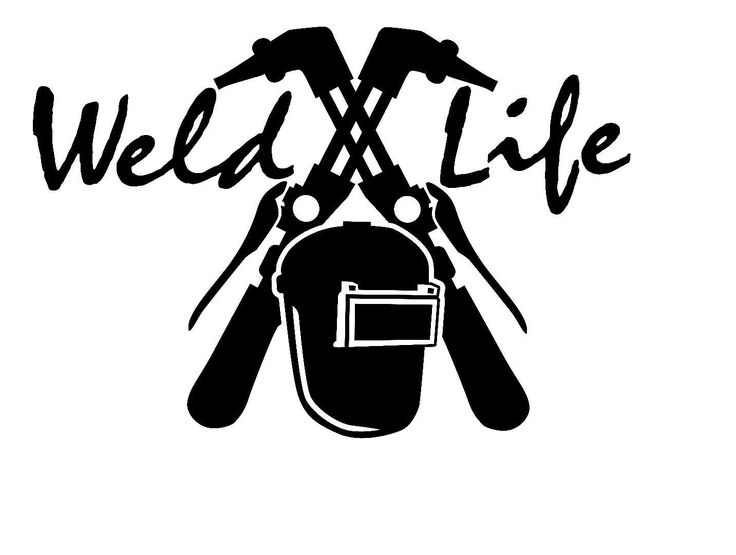 A personal favorite from my Etsy shop https://www.etsy.com/listing/461448444/weld-life-decal