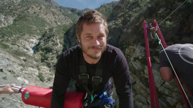 Bungee Jumping w/ Travis Fimmel: Man On a Mission | The Red Bulletin Pre...