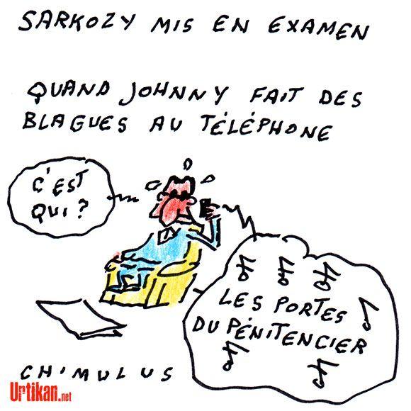Affaire Bygmalion : Sarkozy mis en examen - Dessin du jour - Urtikan.net