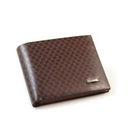Trendy PU Plaid Wallet Card Collector Bifold Purse