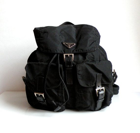 Prada Backpack. Breaking this bad boy out after so many years!