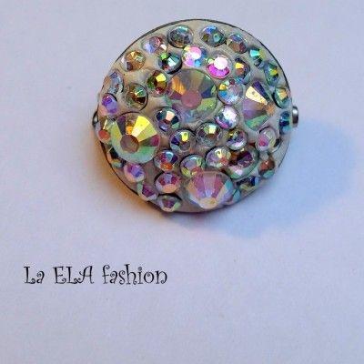 Unikaten nakit La ELA narejen z kristali swarovski