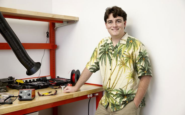 Meet the new boy king of technology, 22-year-old Palmer Luckey. Visionaries   see his 3D virtual reality headset as a real life-changer – the future of   education, business, medicine and more – and Mark Zuckerberg paid $2.3   billion to acquire his company, Oculus Rift. The Telegraph meets him in   Silicon Valley
