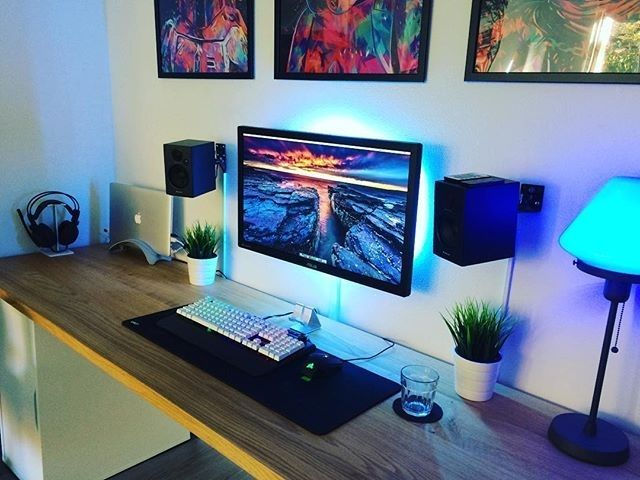 25 best ideas about gaming setup on pinterest pc gaming setup computer setup and computer - Spectacular design of use gaming computer desk ...