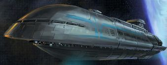 The Republic Transport ship was used by the Galactic Republic during the Great Galactic War as a...
