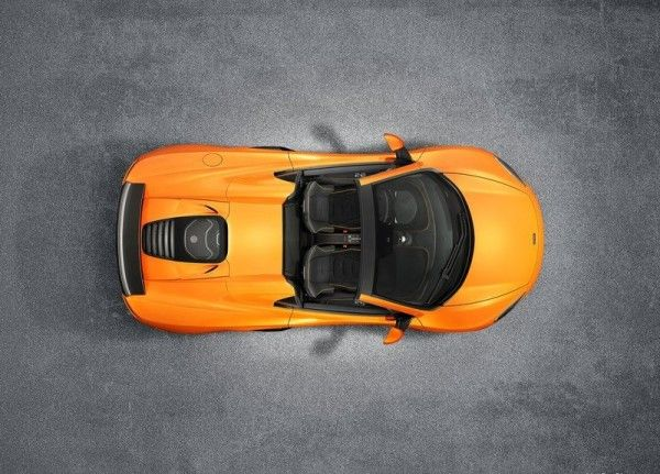 2015 McLaren 650S Spider top design and styling 600x431 2015 McLaren 650S Spider Review Details