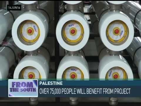 Gaza: Turkey to Build Seawater Desalination Plant…