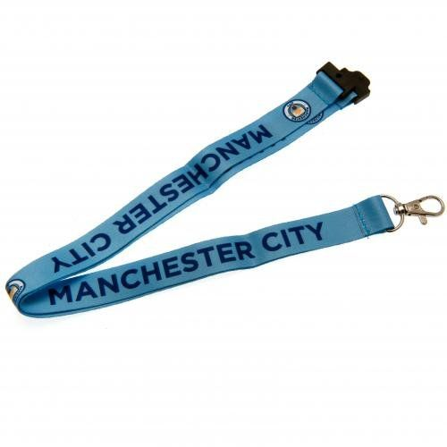 Manchester City F.C - Lanyard  Official Licensed Product  Shipped from the UK  See below for full product description