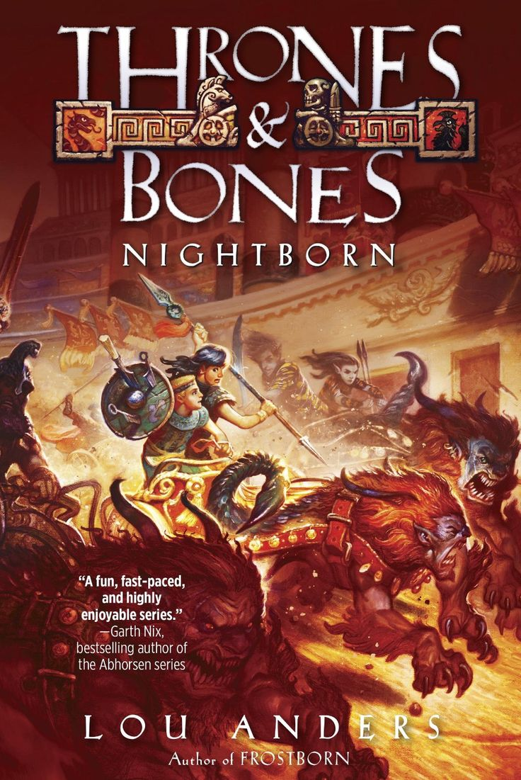 The Cover Of Nightborn, Book Two Of The Thrones And Bones Series Art By