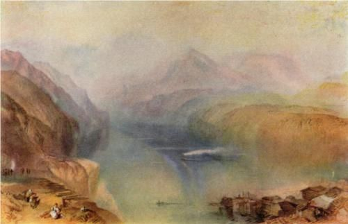 Lake Lucerne, 1802. Tate Gallery Londres