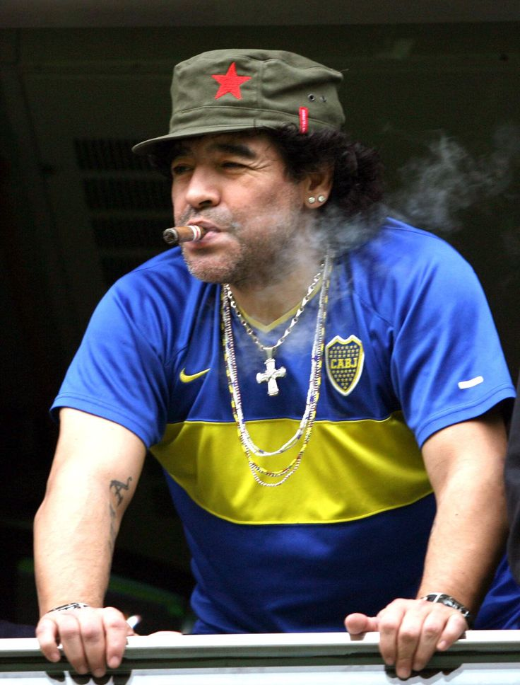 the revolutionary Diego Maradona!