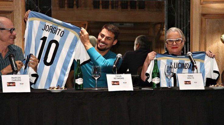 ¿Los actores de Avenida Brasil hinchan por la Argentina?