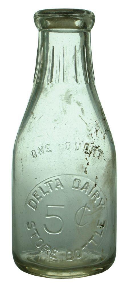 Auction 29 Preview | 542 | Delta Dairy Old Milk Bottle