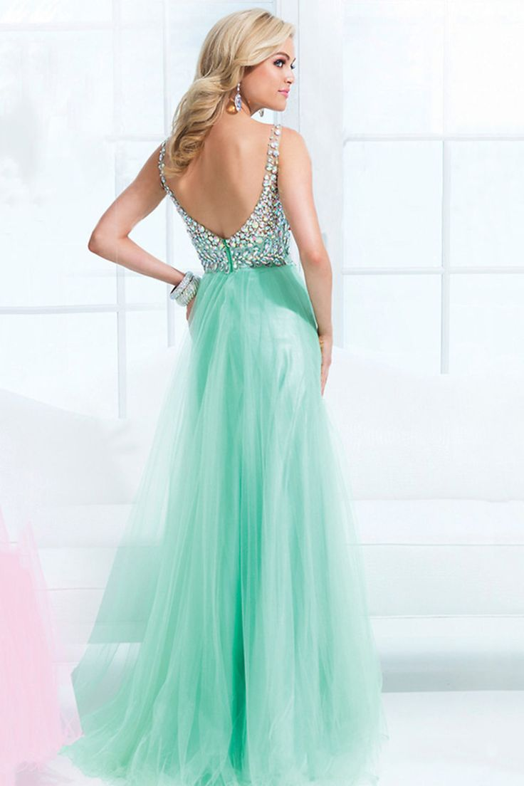 Mint green dress prom   best dresses images on Pinterest  Short dresses Graduation and