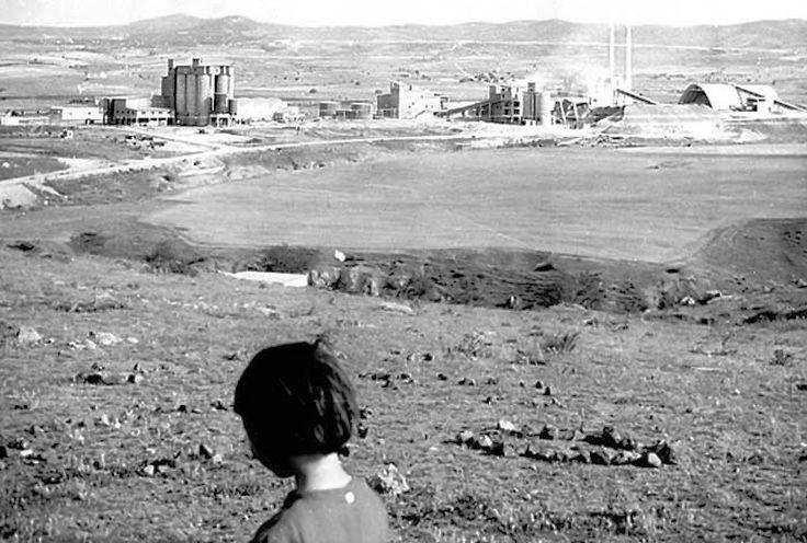 Το εργοστάσιο του Τιτάνα στη Νέα Ευκαρπία τη δεκαετία του 1960
