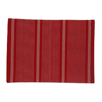 Briscoes - Just Home Stanton Red Placemat
