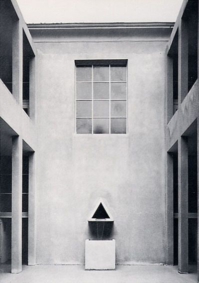School in Broni, Milano, 1970 by Aldo Rossi. Want to visit next time!